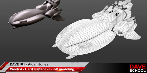 DAVE 101 Digital Modeling and Sculpting img