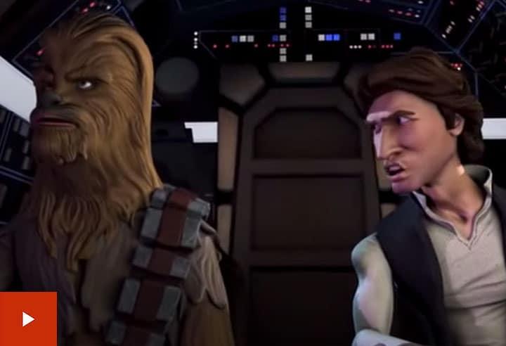 older videos Star Wars The Solo Adventures